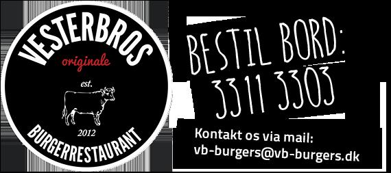 Velkommen til Vesterbros Originale Burgerrestaurant